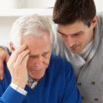 Сиделка к больному Альцгеймером