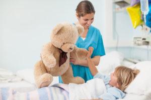 Няня на время болезни детей