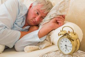 Бессонница у стариков в деменции